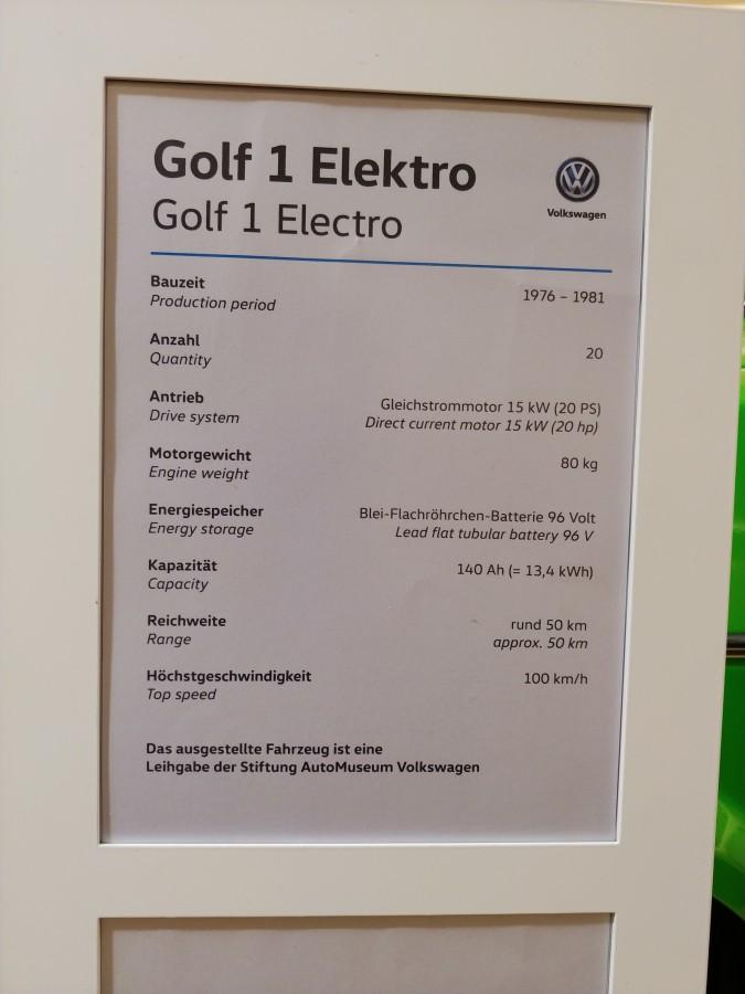 Die elektrischen Golf-Dinos