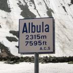 1. Halt Albulapass nach ca. 100km Autobahn mit ca. 140kmh