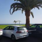 Mit dem e-Golf nach Morro Jable/Fuerteventura