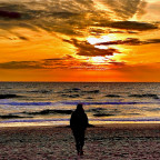 Sylter Sommer Sonnenuntergang