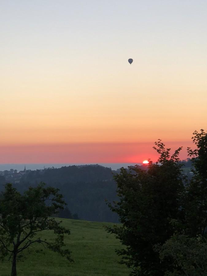 Ich war wohl nicht der Einzige welcher den heutigen grossartigen Sonnenaufgang beobachtete