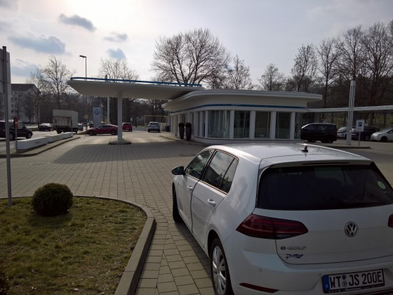 VW Ladepark (alte Tanke) in Wolfsburg I