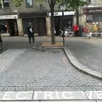 """Weit und breit keine Steckdose, aber """"Electric vehicle recharging point only"""""""