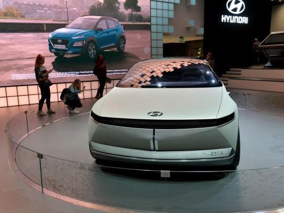 """IAA 2019 - Hyundai - Elektro-Konzeptfahrzeug """"45"""""""