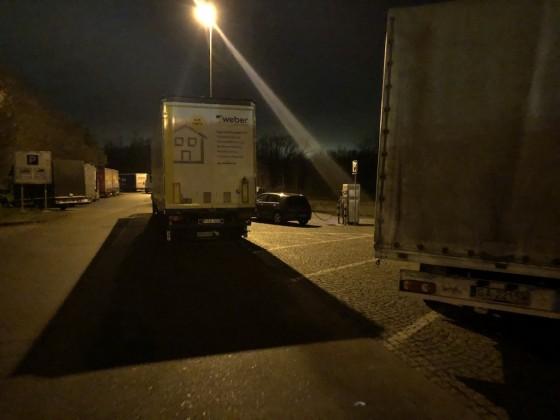 Neulich Nachts auf der A5...