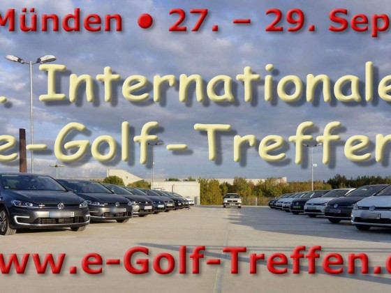 4. internationales e-Golf-Treffen