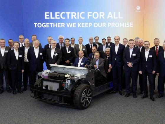 Volkswagen und Zulieferer starten Countdown zum ID.