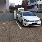 eGolf in MZG