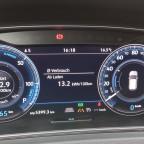 Bergab rekuperieren mit 110km/h ;)