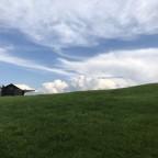 Ausflug auf den hohen Hirschberg - auch Wolken sehen manchmal hübsch aus!