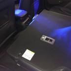 2/3 - 1/3 umlegbare Rücksitzbank - Ladefläche optimal flach ohne Absatz und Schräge