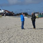 kurz vor dem Boxenstopp am Strand...