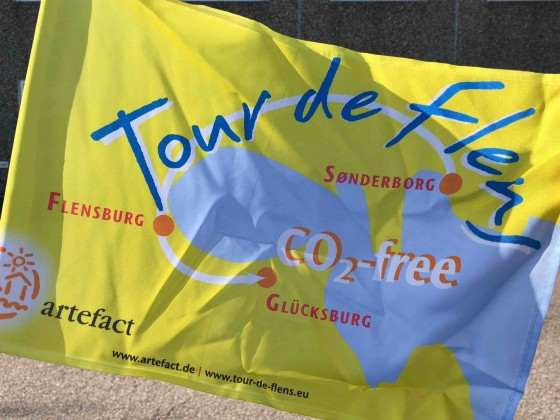 Tour de Flens - Flagge