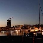 Sonderburg bei Nacht.