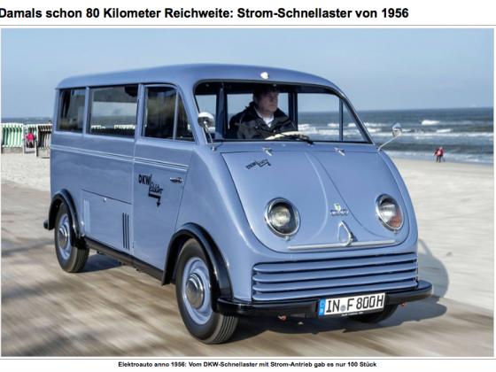 DKW Strom- Schnellaster