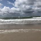 Wolken Wind und Meer