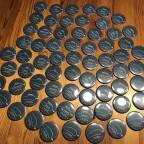 Buttons für die Teilnehmer am 3. internationalen eGolf Treffen