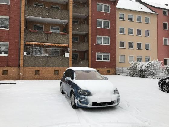 Winter 2017 nach nur 8km ist das Kennzeichen nicht mehr zu erkennen