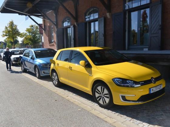 3. int. e-Golf-Treffen in Hann. Münden