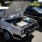 Motorraum Golf 2 CityStromer