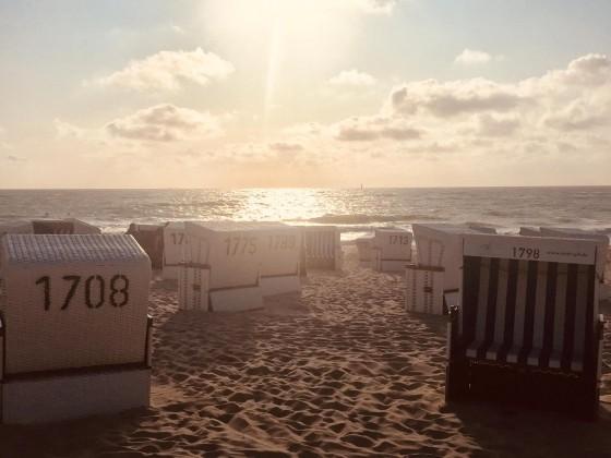 Strand für uns alleine