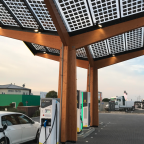 E-Golf bei Fastned Paderborn_